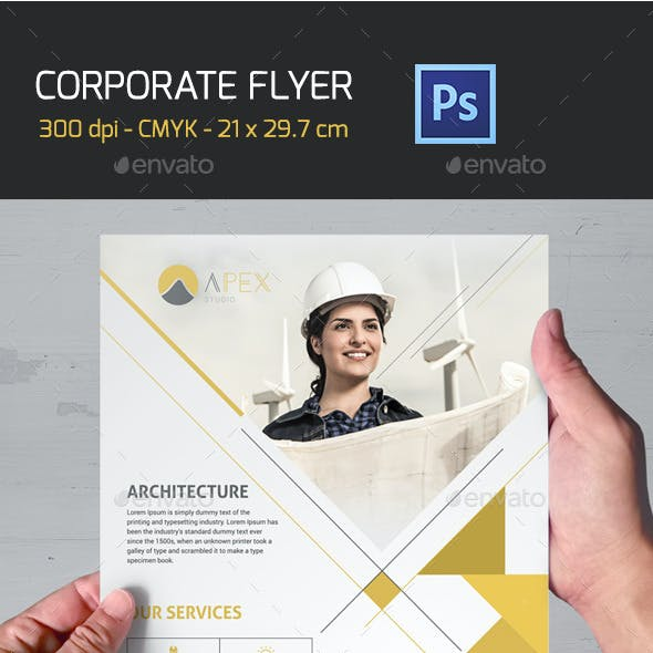 Corporate Flyer A4