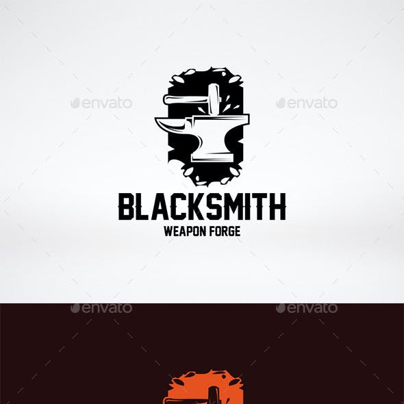 Blacksmith Logo Template