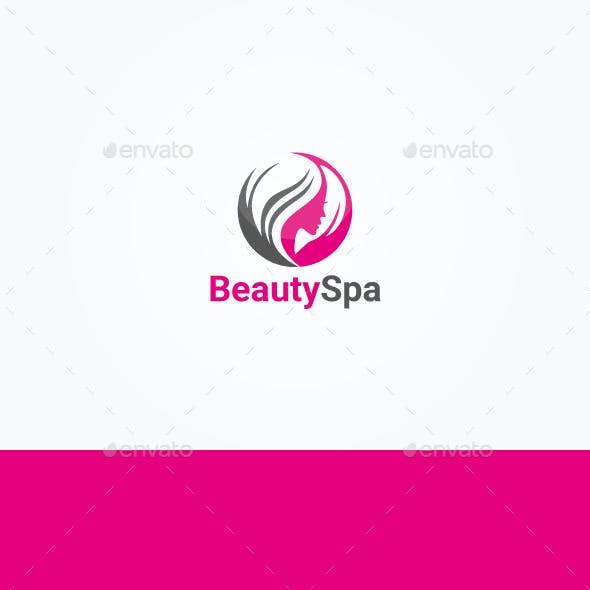 Beauty & Hair Salon Logo