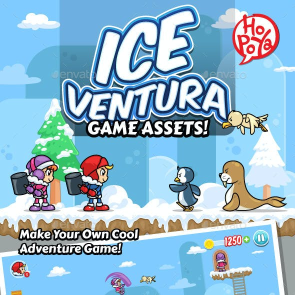Ice Ventura Game Assets