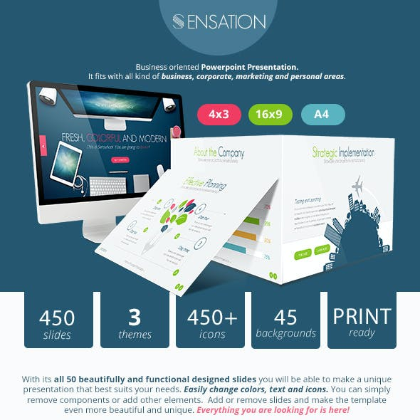 Sensation Powerpoint Presentation