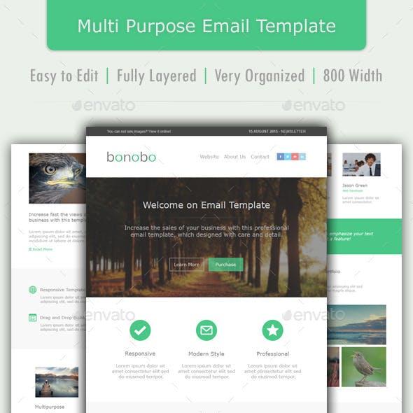 Bonobo - Multipurpose Email Template