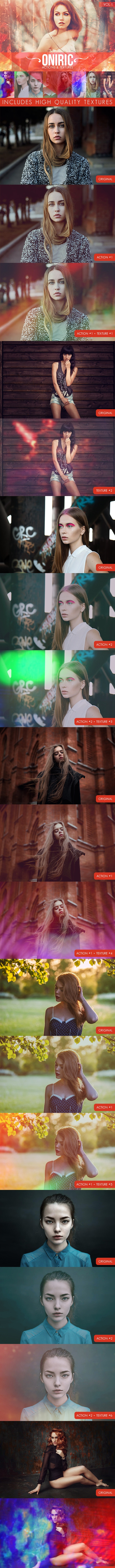 Oniric Actions and Textures Vol.1 - Photo Effects Actions