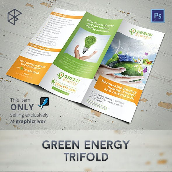 Green Energy Trifold