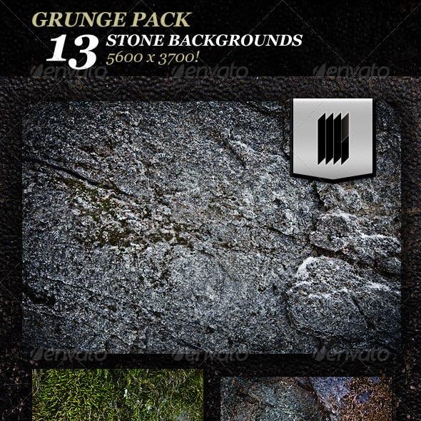 13 Grunge Stone Textures Hi-Res
