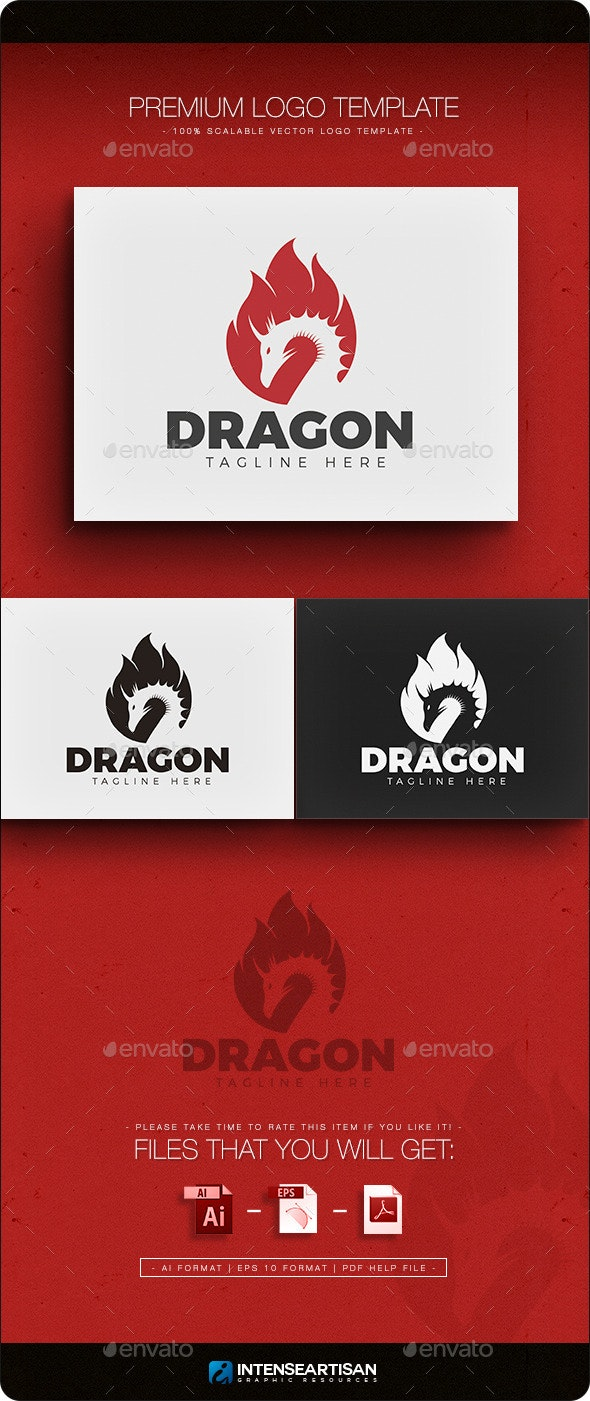 Dragon V.2 Logo