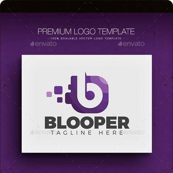 Blooper V.2 - Letter B Logo