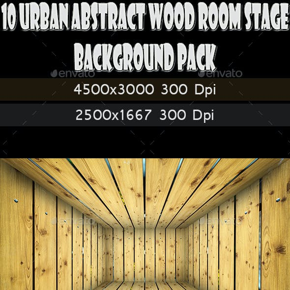 10 Urban Stage Brick Room Texture Pack