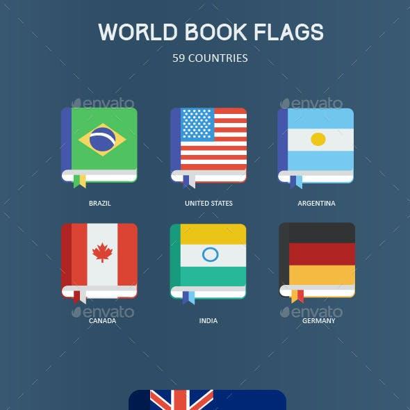 59 World Book Flags