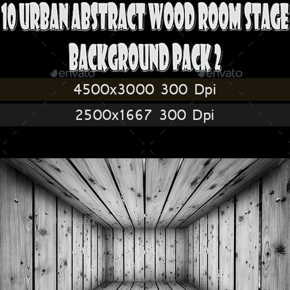 10 Abstract Wooden Interior Walls Stage 2