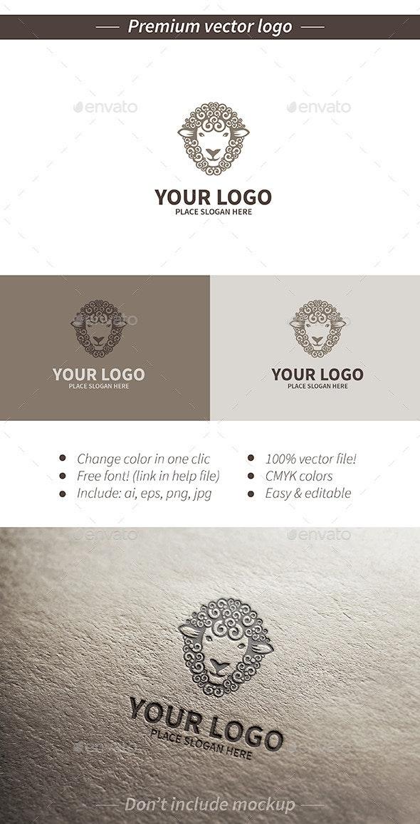 Sheep logo - Animals Logo Templates
