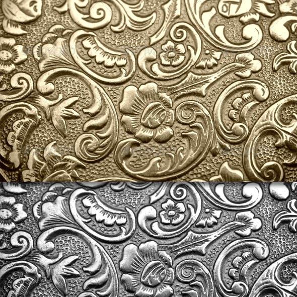 Metal textures 01 - real metal