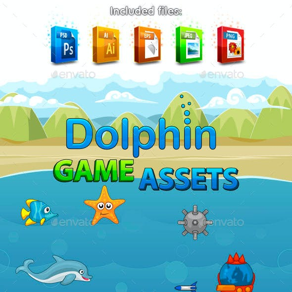 Dolphin Game Assets