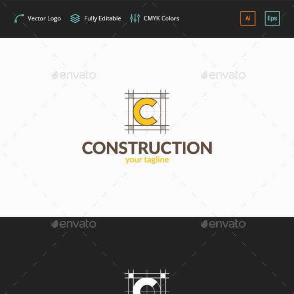 Construction Plan - C Logo