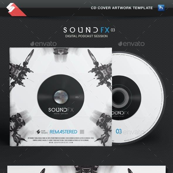 Sound FX vol.3 - CD Cover Artwork Template