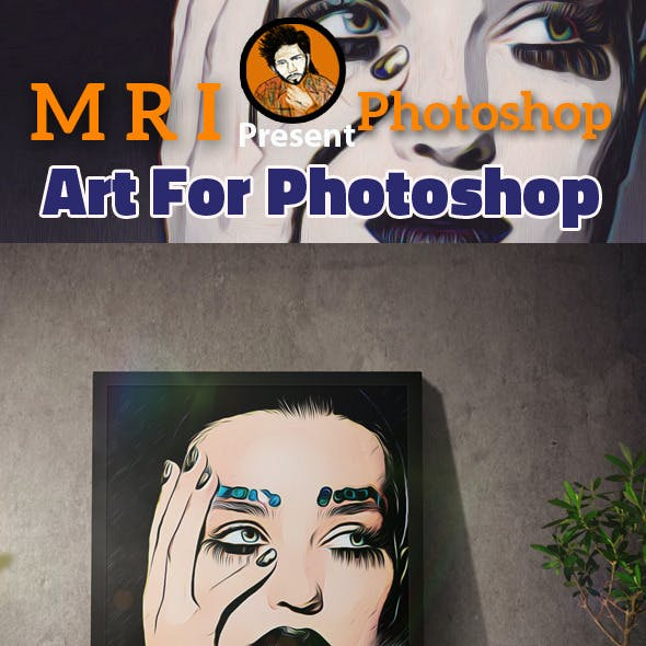 Art For Photoshop Action