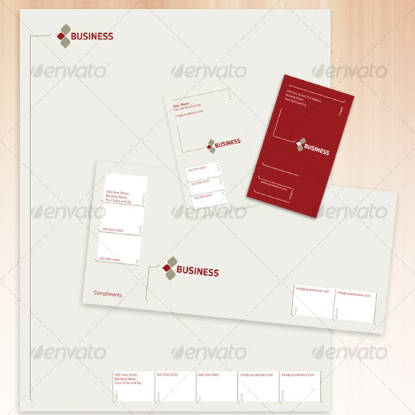 Classically Corporate - Stationery