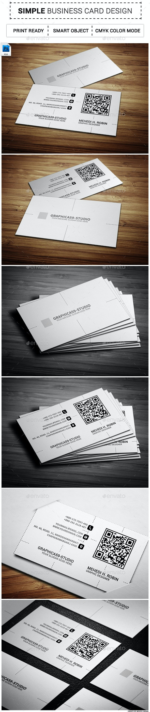 Simple Business Card vol-02 - Corporate Business Cards