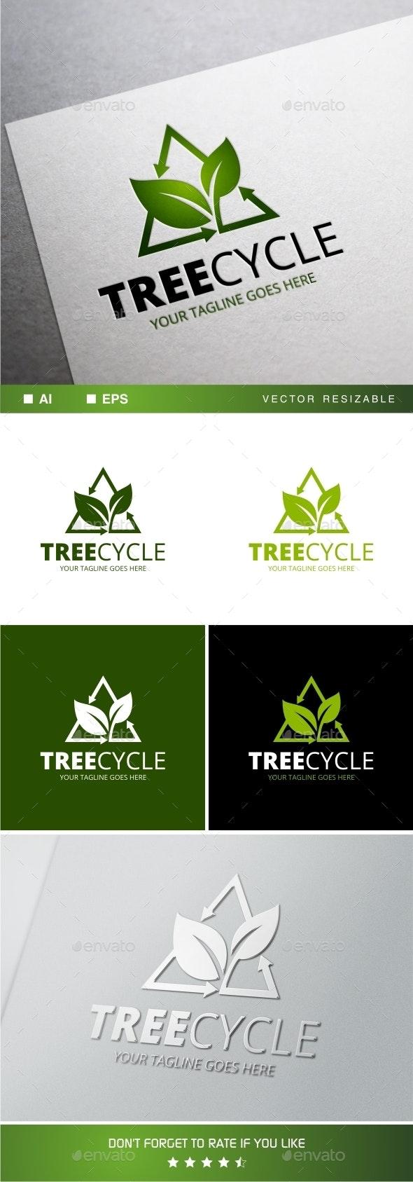 Treecycle Logo Template