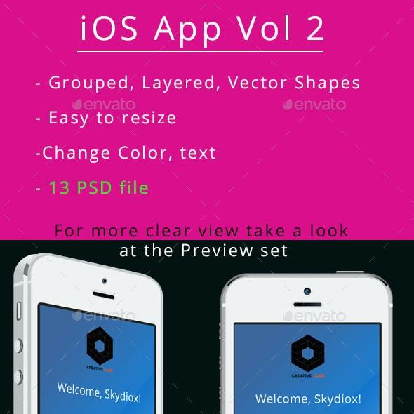 iOS App UI Vol 2