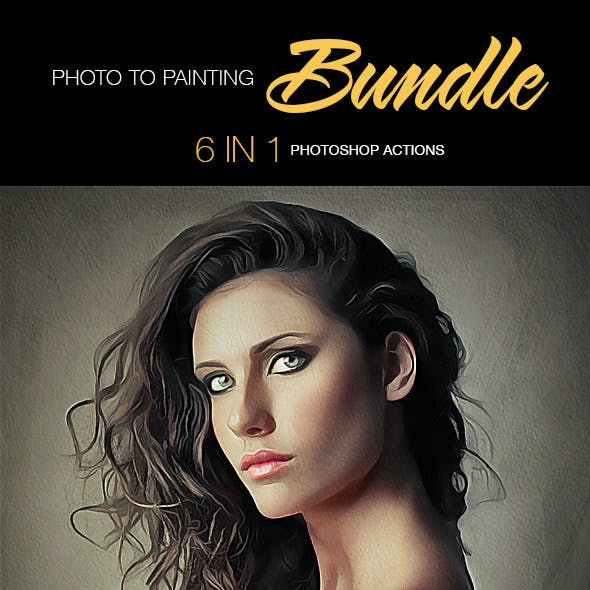 Photo To Painting Bundle 6 In 1