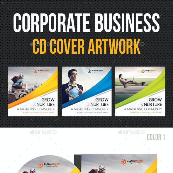 Corporate Business CD Cover Artwork V02