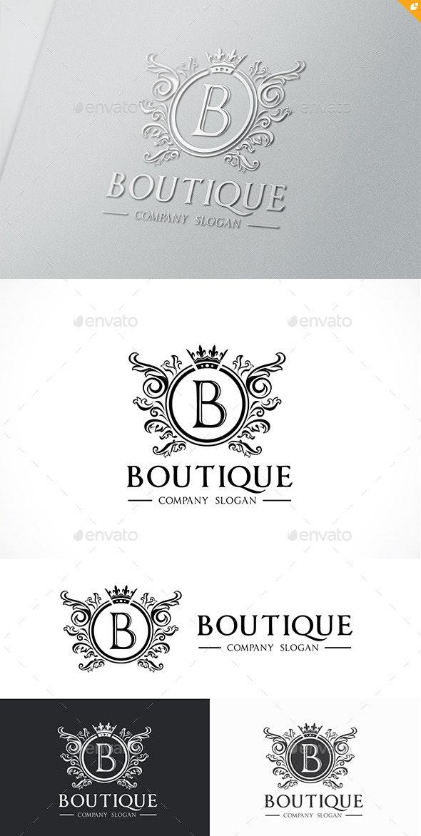 Boutique Logo Template - Crests Logo Templates