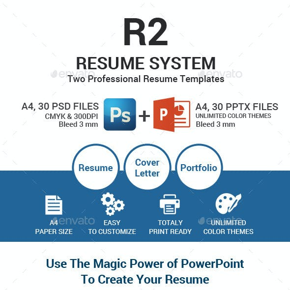 R2 Resume Template System