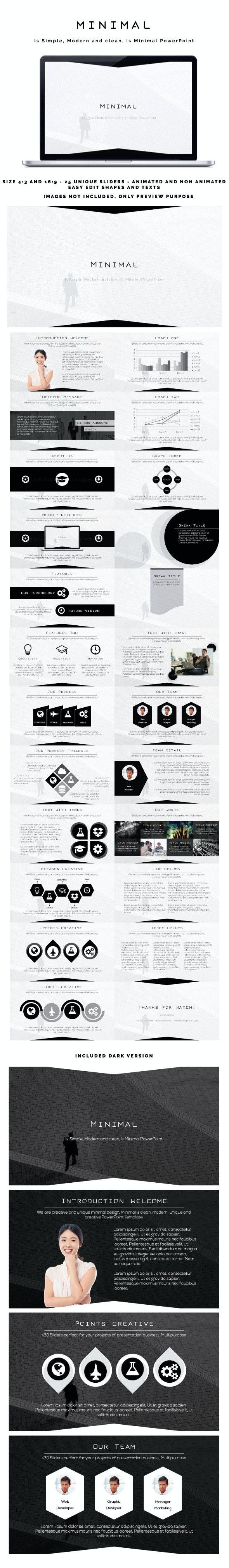 Minimal PowerPoint - Business PowerPoint Templates
