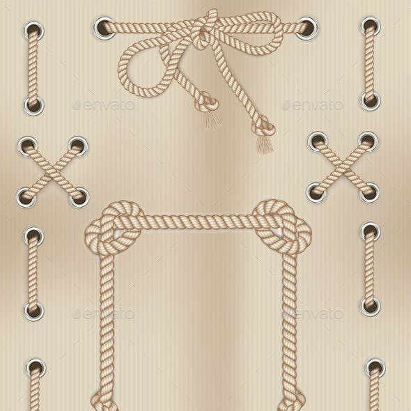 Frames Made From Rope