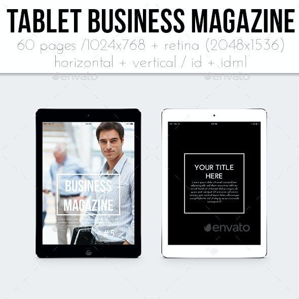 iPad &Tablet Business Magazine