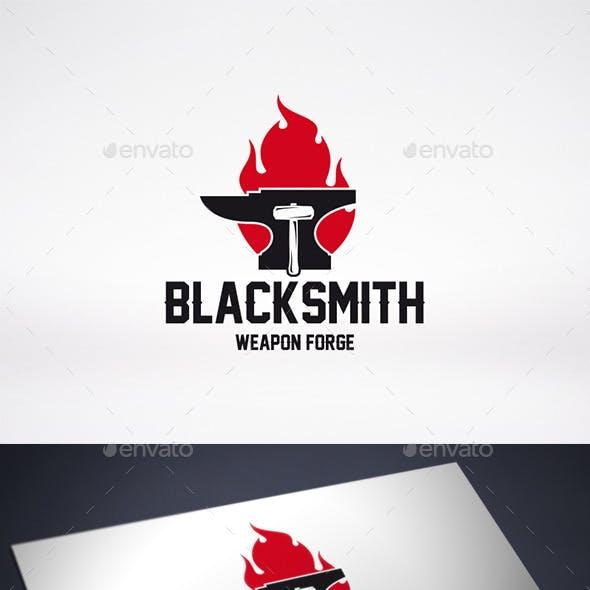 Anvil Fire Logo Template