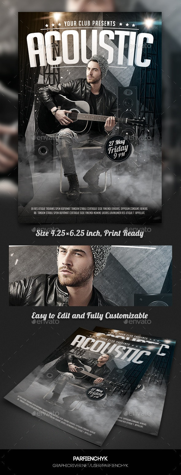 Music Concert Flyer Template - Events Flyers