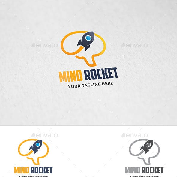 Mind Rocket - Logo Template