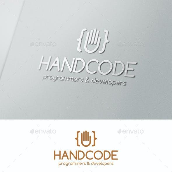 Hand Code Studio Programming Logo