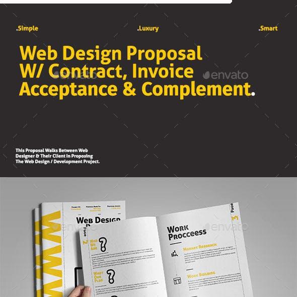 Web Design Proposal W/ Project Complement