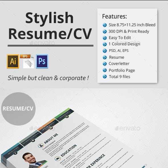 Stylish Resume/CV