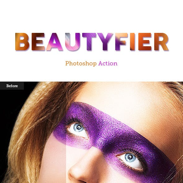 Beautyfier Photoshop Action