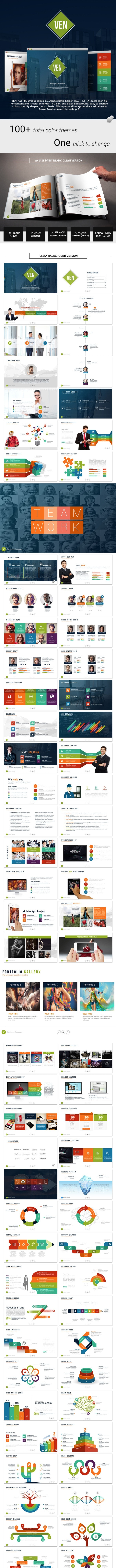 Ven - Complete Powerpoint Template - Business PowerPoint Templates