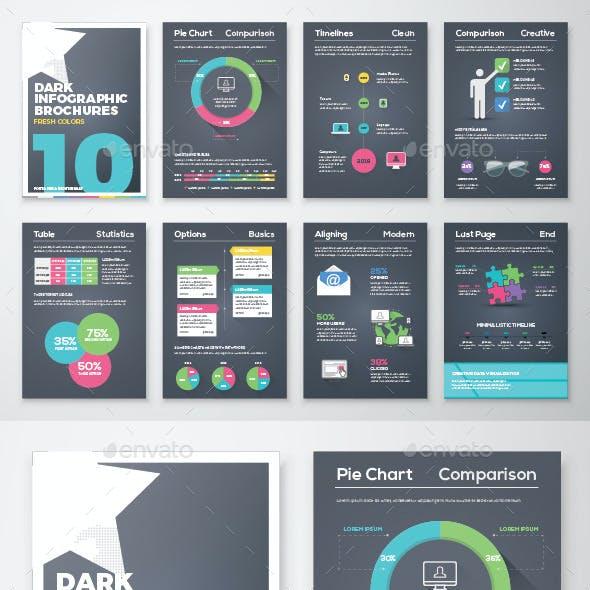 Infographic Brochure Vector Elements Kit 10