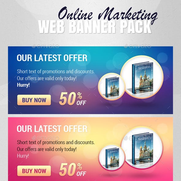 Online Marketing - Web Banner Pack