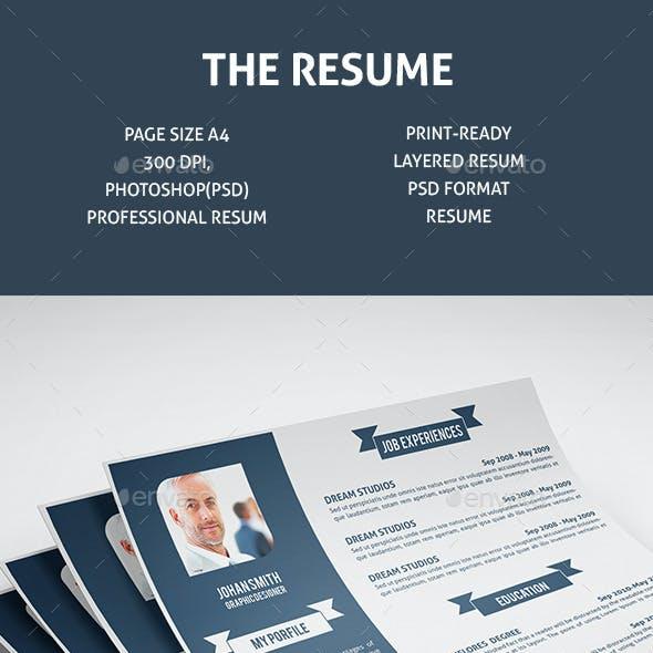 The Resume V-1
