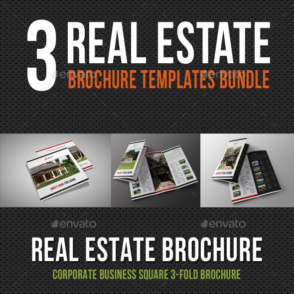 3 in 1 Real Estate Brochure Bundle