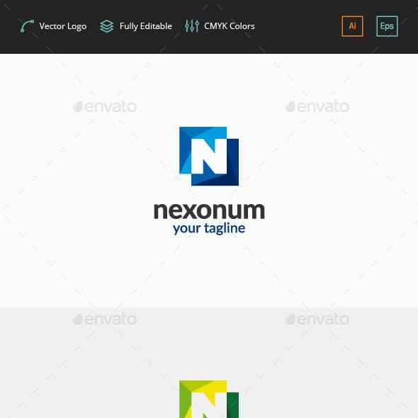 Nexonum Logo - Letter N