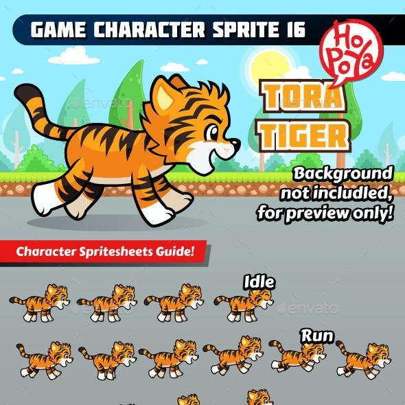 Game Character Sprite 16