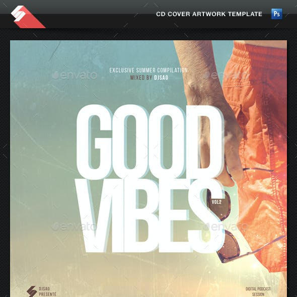Good Vibes vol.2 - CD Cover Artwork Template