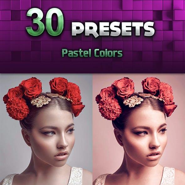 30 Pastel Colors