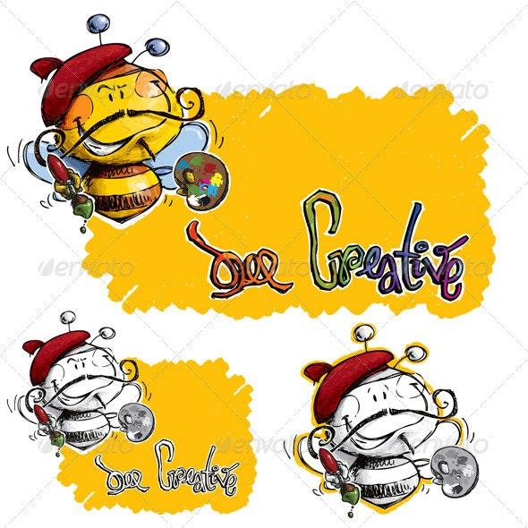 Bee Creative - Animals Characters