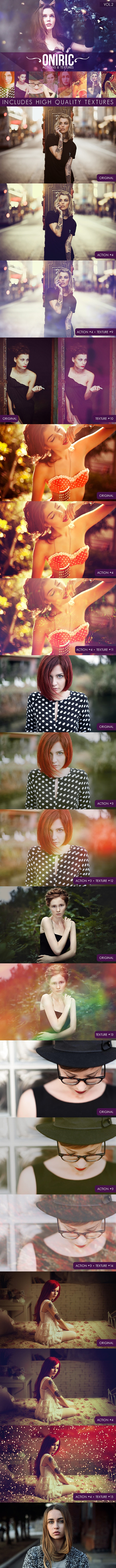 Oniric Actions and Textures Vol.2 - Photo Effects Actions