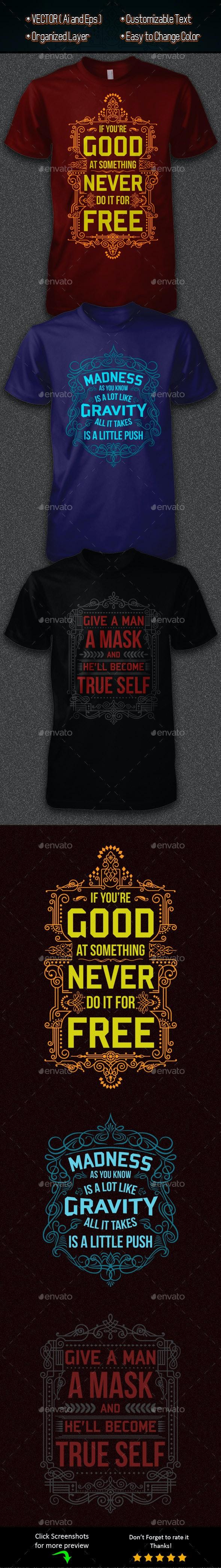 Joker Quotes - Designs T-Shirts